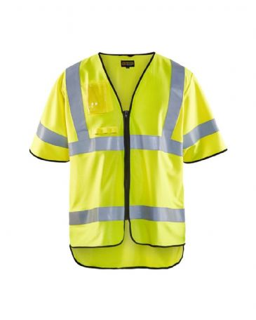 Blaklader 3024 Anti-Flame Waistcoat High Vis Cl 3 Yellow
